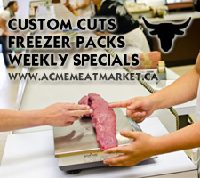 Edmonton Butcher Shop ACME Meat Market